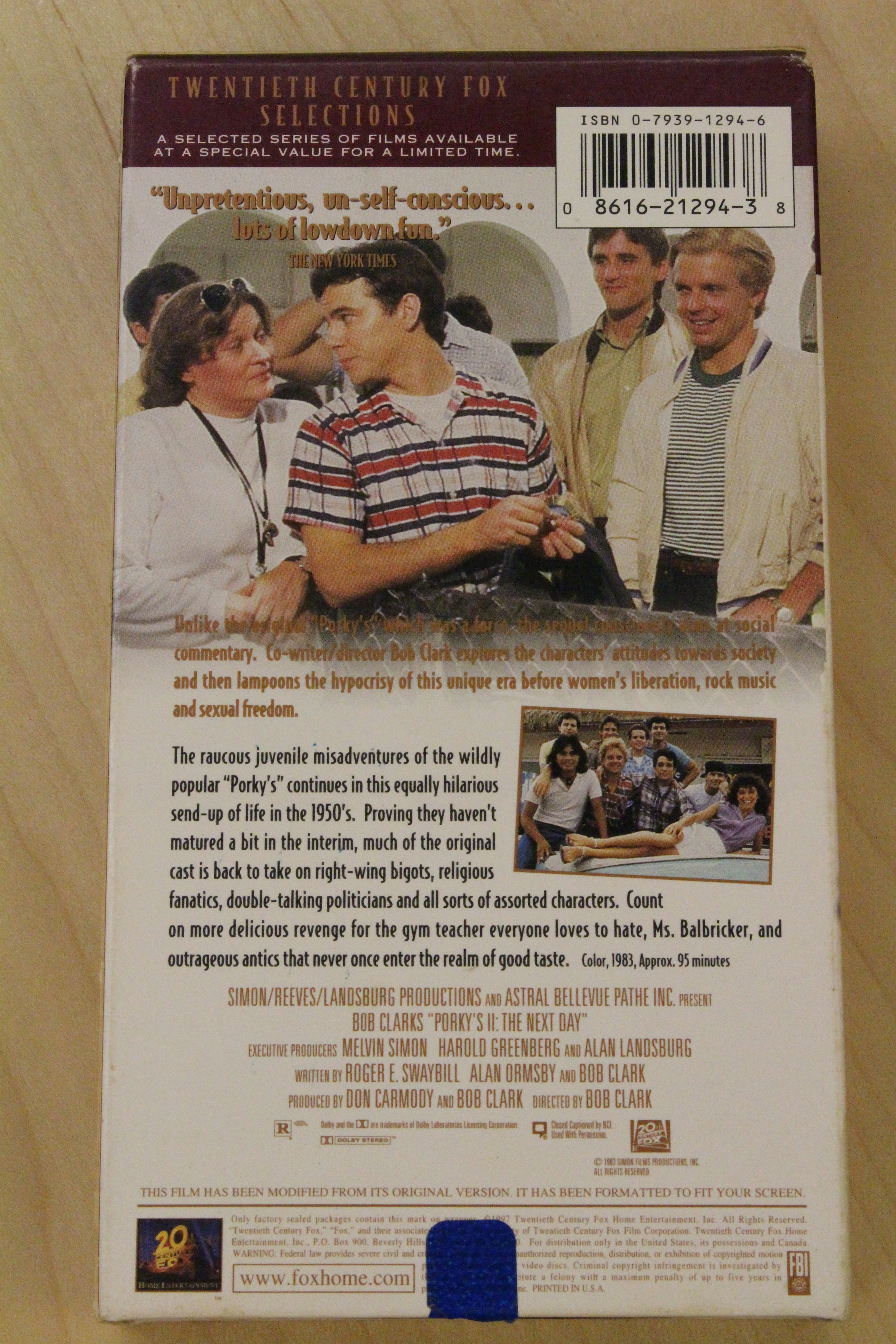 porky�s ii the next day vhs the console living room