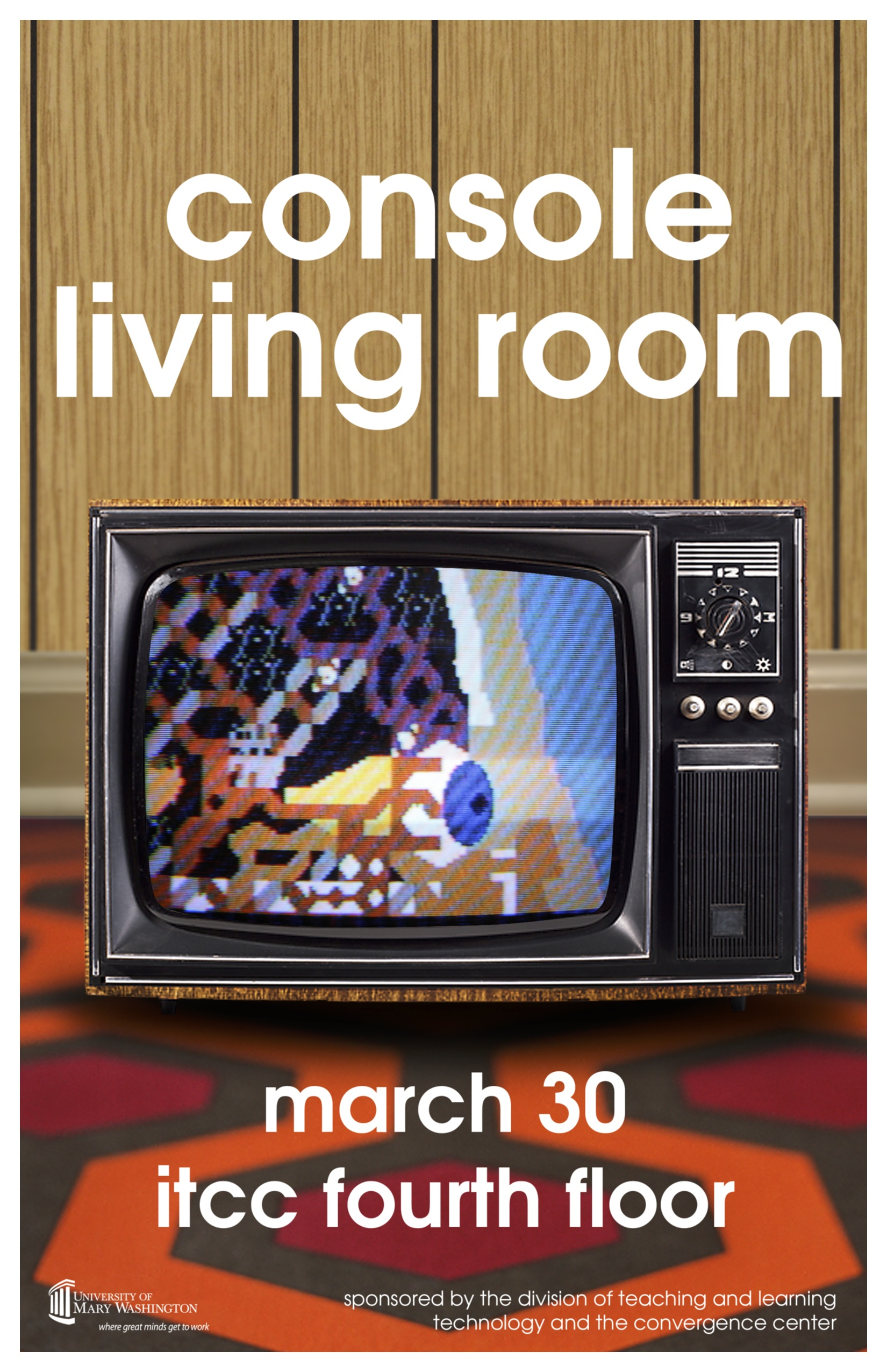 Umwconsole Poster Microsurgeon The Console Living Room
